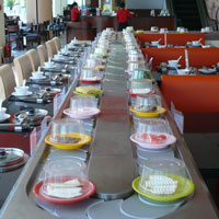 kaiten sushi conveyor, transporter, slider, classic